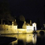 Bruges at night on our Beer Trip