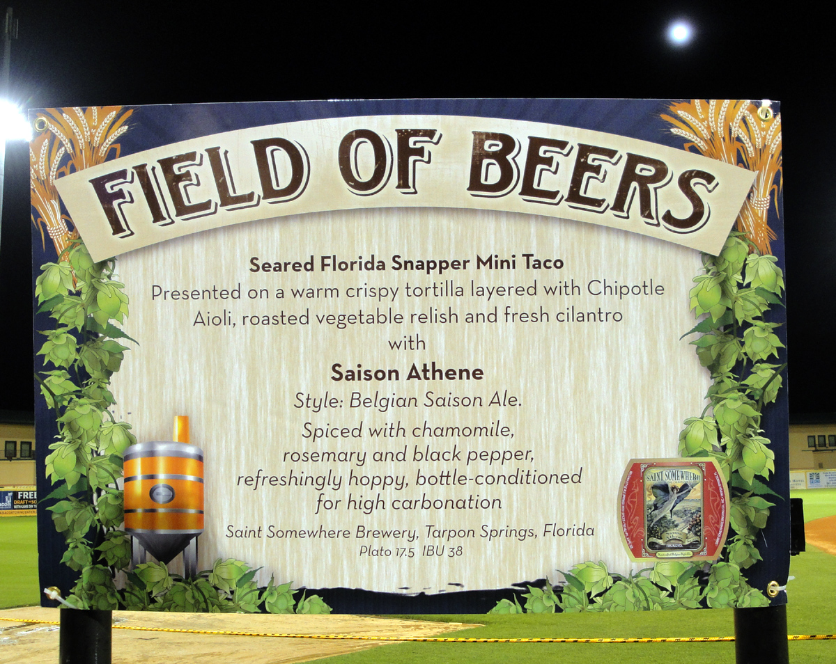 Field of Beers Saint Somehwere's Station with Saison Athene