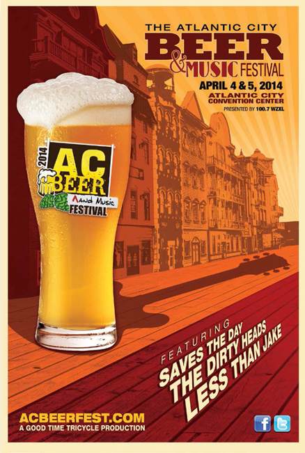 Beer Travel to Atlantic City Beer & Music Fest 2014