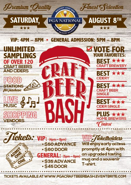 Craft Beer flyer