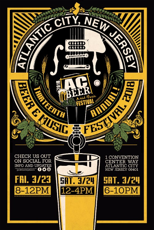 Atlantic City Beer And Music Festival 2020 Beer Festivals and Events for Beer Lovers   Bon Beer Voyage
